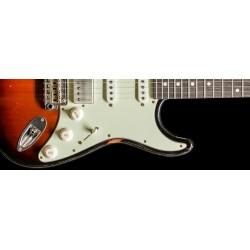 Suhr Classic S Antique LTD, Roasted Body and Neck, 3 Tone Burst
