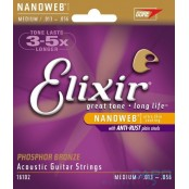 Elixir Nanoweb PBronze Medium