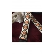 Holy Cow Real Vintage Brown Swirl 60`s Strap