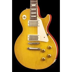 Gibson Custom 58 Les Paul Standard Reissue (R8) Lemon Drop Plain Top (USED, 2011)