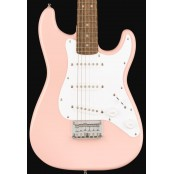 Squier Mini Stratocaster Laurel fingerboard Shell Pink