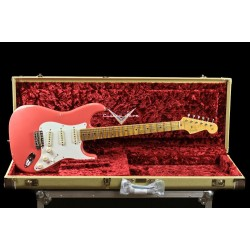 Fender Custom Shop 1958 Stratocaster Relic Ltd Ed Fiesta Red