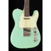 Kauffmann Guitars 63 T-model relic surf green rw 9.5 radius