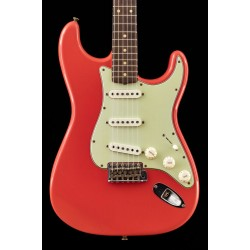 Fender Custom Shop #3 limited edition '62/'63 Stratocaster journeyman relic, aged fiesta red