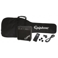 Epiphone SG Junior Satin Ebony Starter Pack