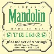 D'Addario EJ62 mandoline snaren
