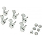 Fender Locking Tuners Chrome Vintage Buttons