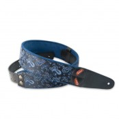 Righton Guitarstrap Paisley Blue