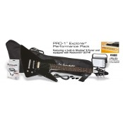 Epiphone PRO-1 EXPLORER PACK (Equipped with Rocksmith) Ebony
