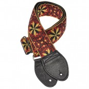 Souldier Guitarstrap Dresden Star Red  Black