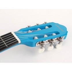 Salvador Kids Series classic guitar 3/4 scale gloss blue finish