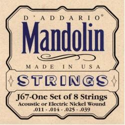 D'Addario snaren J67 mandoline