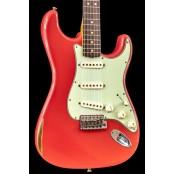 Fender Custom Shop 64 Strat Relic Faded Fiesta Red NAMM Ltd Ed