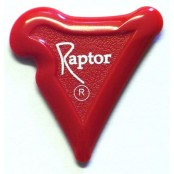 Raptor Plectrum Red