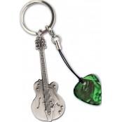 Grover Allman sleutelhanger gitaar met plectrum Gretsch