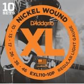 D'Addario snaren elektrisch EXL110 - 10pack