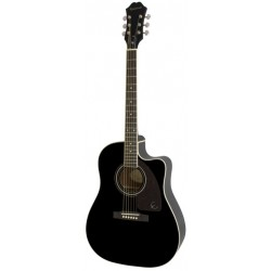 Epiphone gitaar folk AJ-220SCE solid top EB