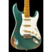 Fender Custom Shop 56 Strat Heavy Relic Sherwood Green Mn