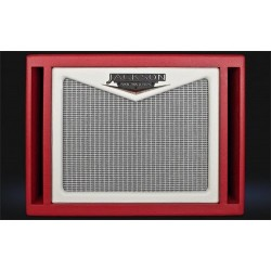 Jackson Ampworks 112 Dual Ported Cabinet Red alnico gold occasion