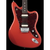 Squier Vintage Modified Jaguar HH RW Fiesta Red