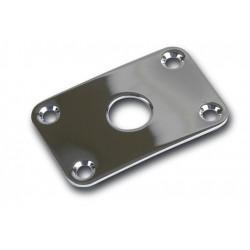 Gibson Metal Jack Plate, Explorer (Chrome)