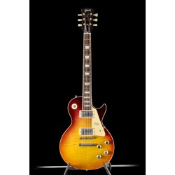 Gibson Custom 60 Les Paul Standard Dark Bourbon Fade VOS NH