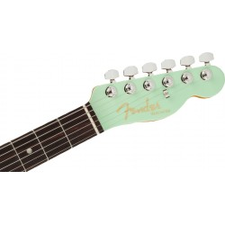 Fender Ultra Luxe Telecaster, Rosewood Fingerboard, Transparent Surf Green