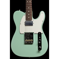 Fender American Performer Telecaster with Humbucking RW Satin Surf Green