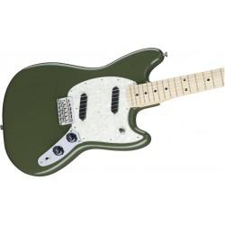 Fender Mustang MN Olive Green