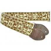 Souldier Guitarstrap Zodiak Brown/Tan