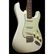 Fender Custom Shop 59 Strat Vintage Custom Relic Closet Classic aged olympic white