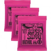 Ernie Ball Super Slinky Nickel Wound 09-42 3 Pack