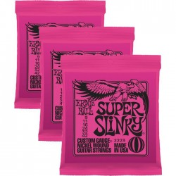 Ernie Ball Super Slinky Nickel Wound 09-42 3 Pack