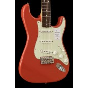 Fender Made in Japan Traditional 60s Stratocaster, Rosewood Fiesta Red