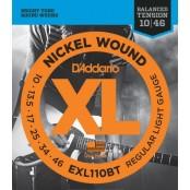 D'Addario snaren eletrisch EXL110BT nickel wound