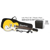 Epiphone Les Paul SL Player Pack Sunset Yellow