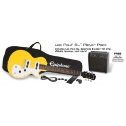 Epiphone Les Paul SL Starter Pack Sunset Yellow