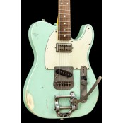 Nash T63 Relic Surf Green Lollartron  Bigsby
