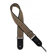 Gaucho gitaarband jacguard weave multi colours 12