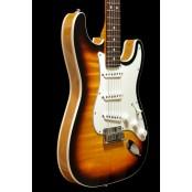Fender Custom Shop Strat Slab body Okoume