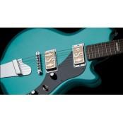 Supro Westbury turquoise metallic