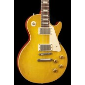 Gibson Custom 58 Les Paul Standard Reissue (R8) Lemon Drop Plain Top (USED, 2011)