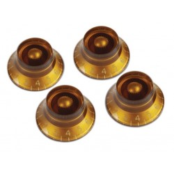 Gibson Top Hat Knobs (Vintage Amber)(4 pcs.)