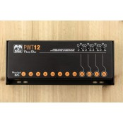Palmer PWT 12 MK 2 Universal 12-Outlet Pedalboard Power Supply