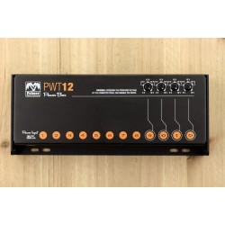 Palmer PWT 12  MK2 Universal Pedalboard Power Supply 12 Outputs