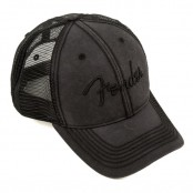 Fender Hat Washed Trucker Cry One Size