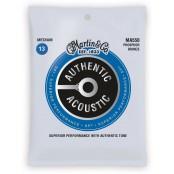 Martin Authentic Acoustic Snaren Phosphor Bronze Medium