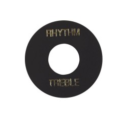 Gibson Toggle Switch Washer (Black, White Imprint)