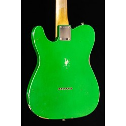 Fender Custom Shop 63 Telecaster Relic Candy Green Rw