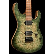 Suhr Modern Black Limba NAMM Select 2018 Waterfall Burl